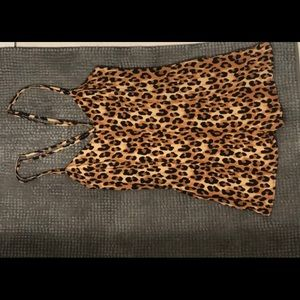 silence + noise Other - Leopard shorts- Romper